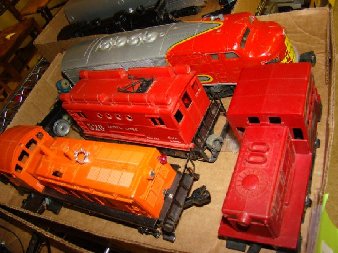 VARIOUS LIONEL LOCOMOTIVES-TENDERS - 4