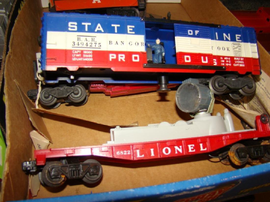 LIONEL TRAIN CARS-ROCK ISLAND AND MORE - 6