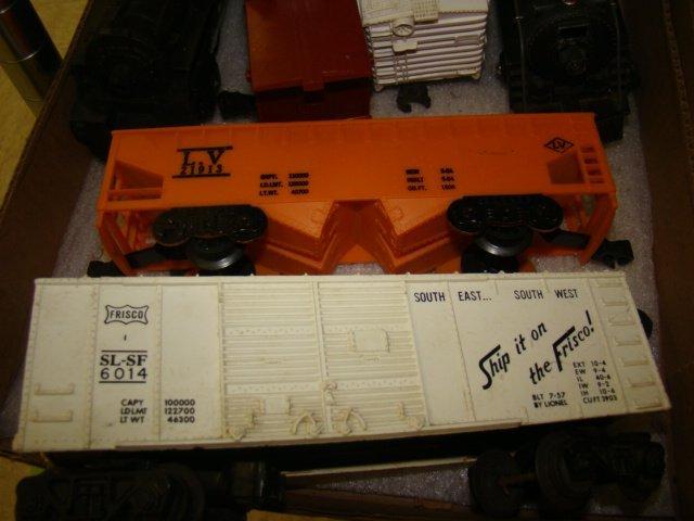 FRISCO BOX CAR-ROCKET FUEL CAR AND MORE TRAINS - 4