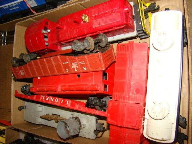 FRISCO BOX CAR-ROCKET FUEL CAR AND MORE TRAINS - 5