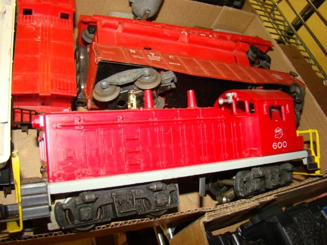 FRISCO BOX CAR-ROCKET FUEL CAR AND MORE TRAINS - 7