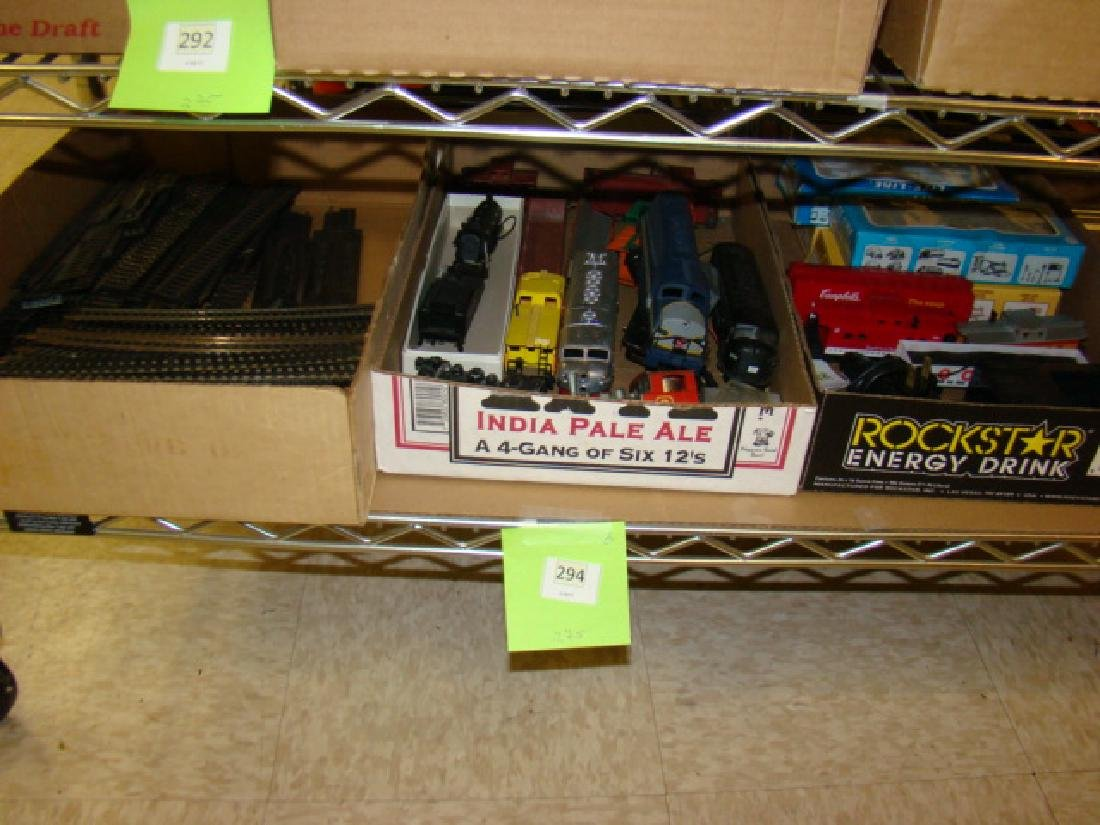 LARGE SMALL SCALE TRAIN LOT