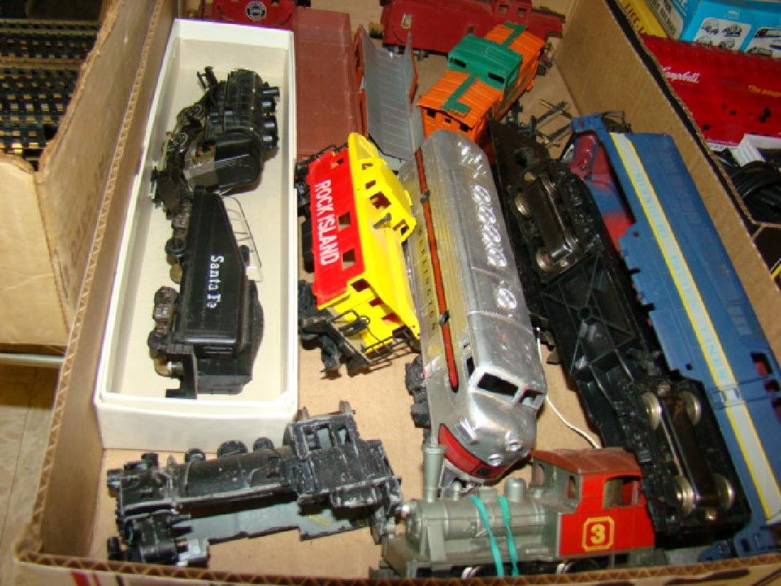 LARGE SMALL SCALE TRAIN LOT - 4