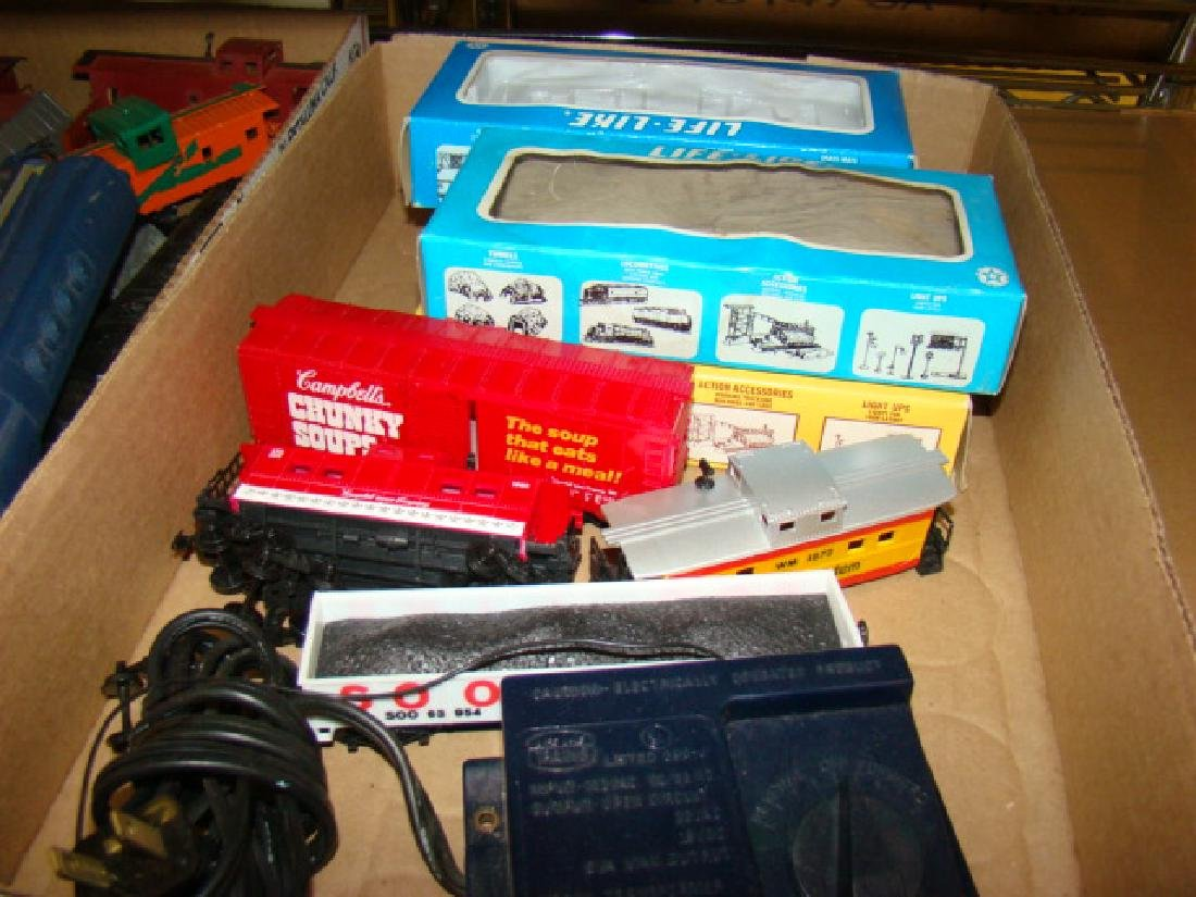 LARGE SMALL SCALE TRAIN LOT - 5