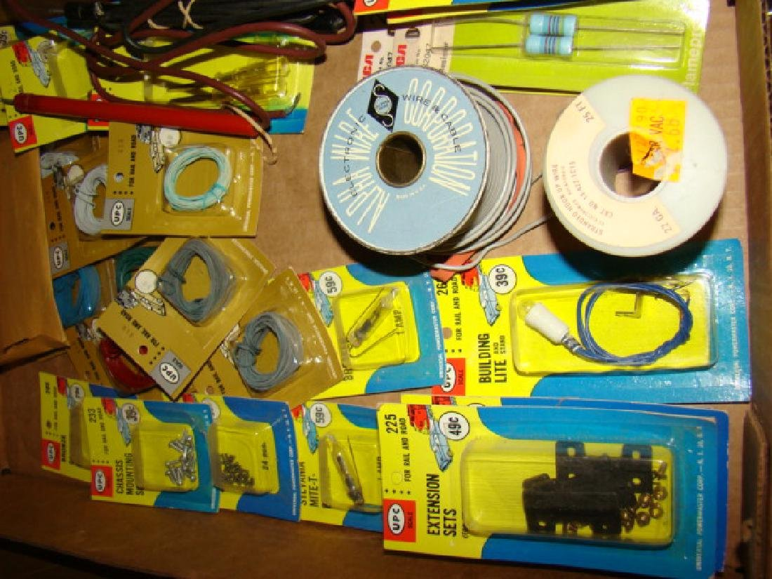 NEW IN PACKAGE UPC TRAIN PARTS - 2