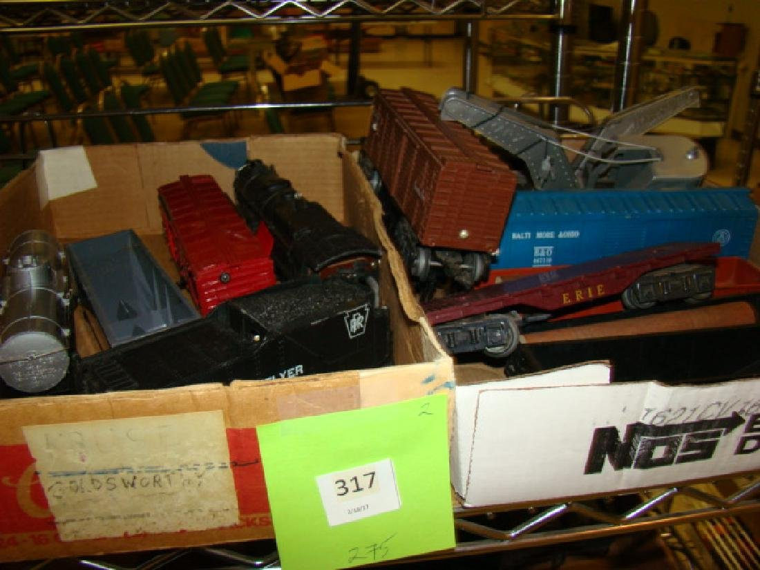 AMERICAN FLYER LOT-WABASH-920 GONDOLA & MORE