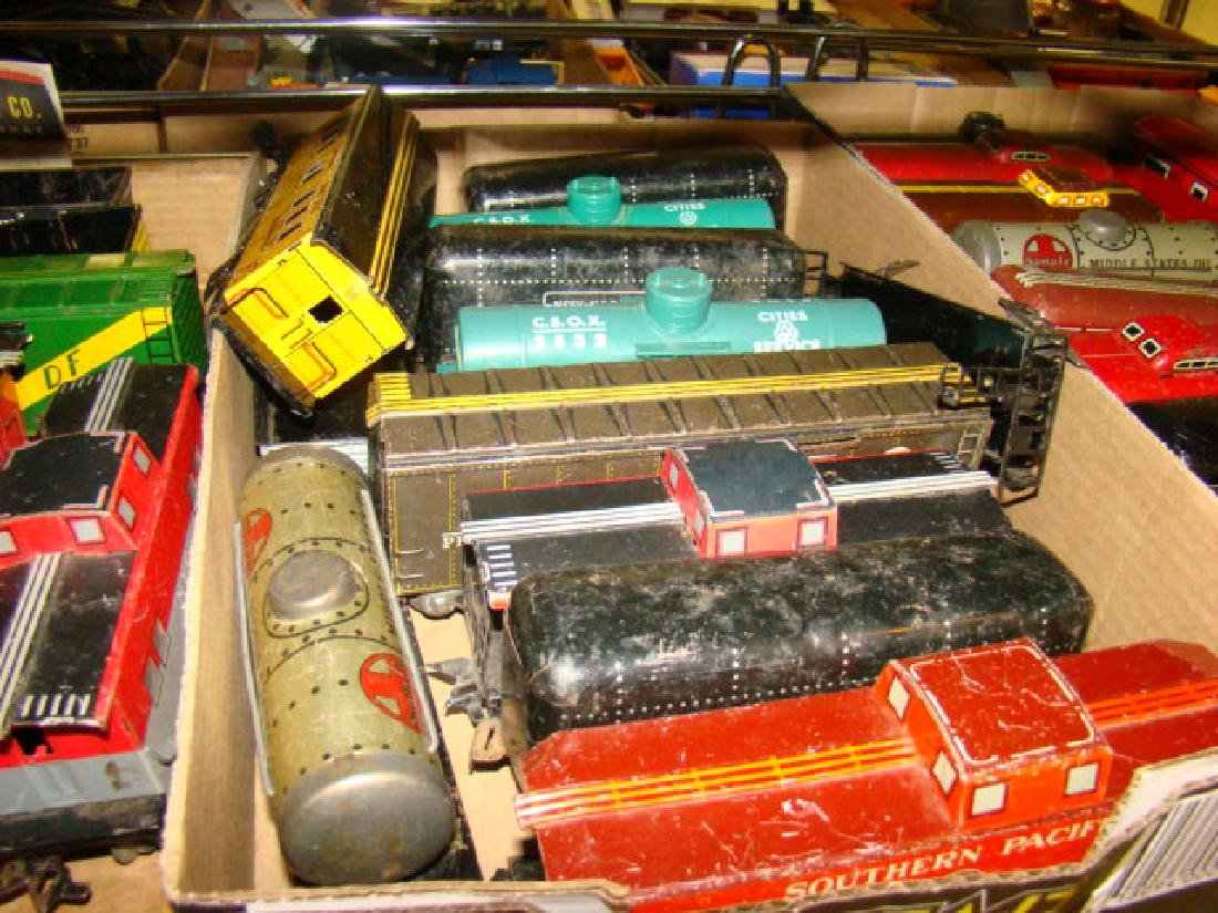 LARGE TIN LITHO TRAIN LOT-IVES AND MORE - 3