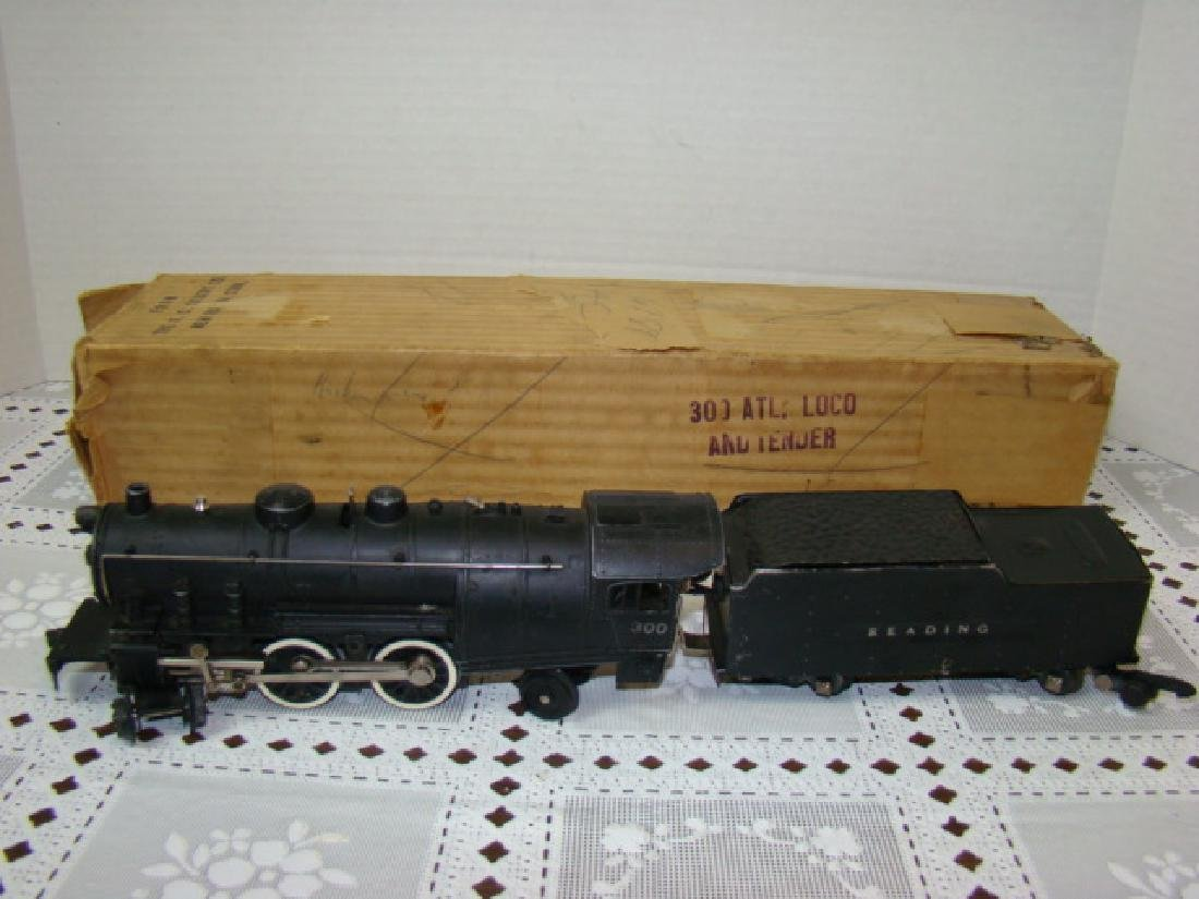 AMERICAN FLYER LOCOMOTIVE 300 & TENDER IN ORIGINAL