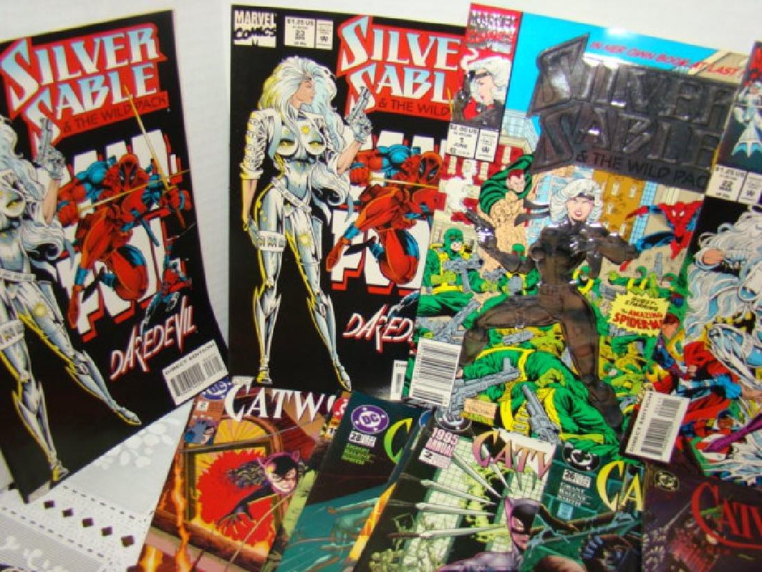 COMIC BOOKS-CATWOMAN-SUPERGIRL-SPIDERWOMAN & MORE - 3