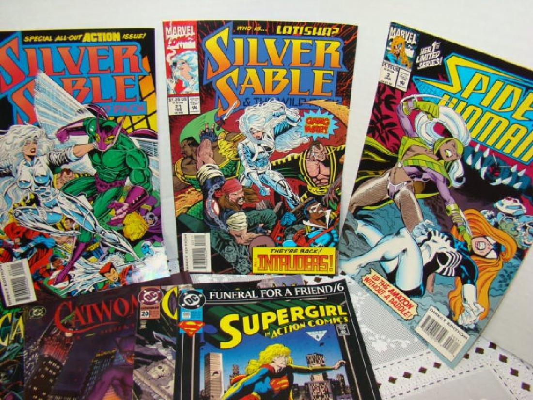 COMIC BOOKS-CATWOMAN-SUPERGIRL-SPIDERWOMAN & MORE - 4