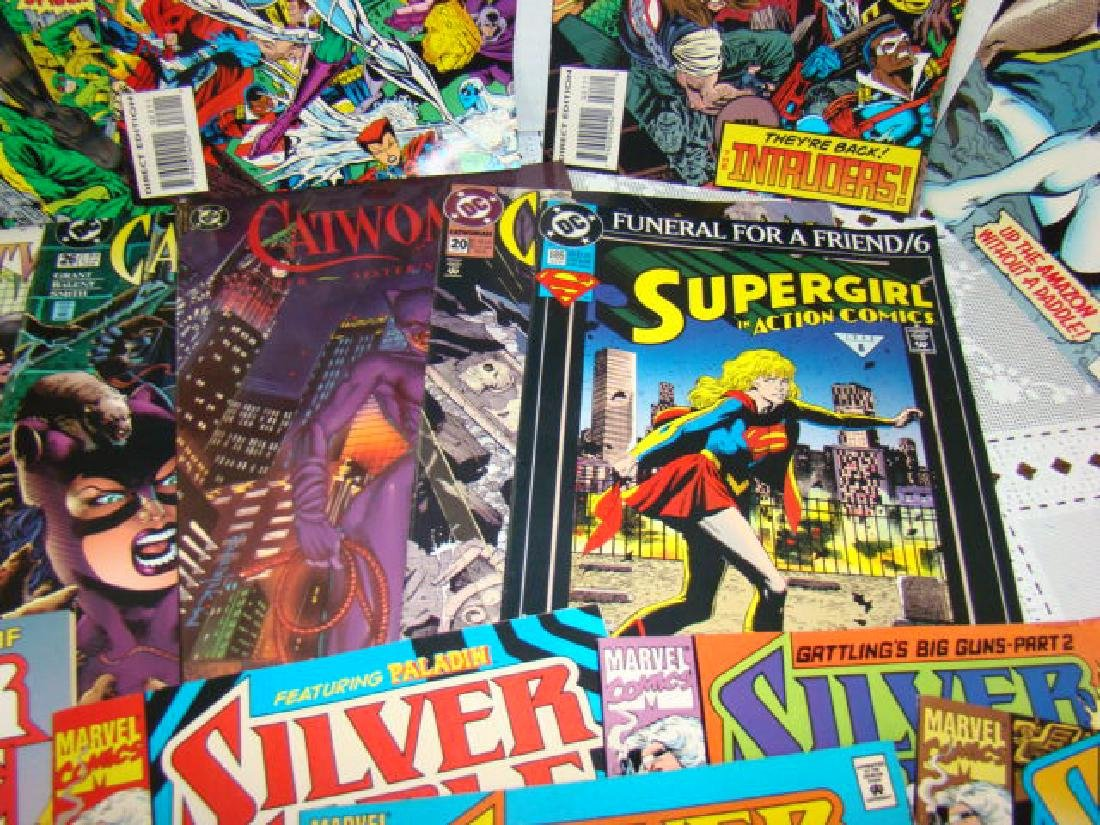 COMIC BOOKS-CATWOMAN-SUPERGIRL-SPIDERWOMAN & MORE - 5