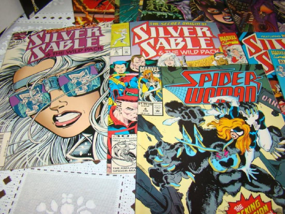 COMIC BOOKS-CATWOMAN-SUPERGIRL-SPIDERWOMAN & MORE - 7
