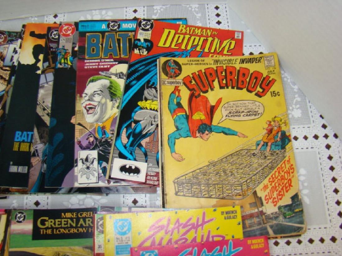 APPROXIMAELY 42 DC COMICS-SUPERBOY-DETECTIVE COMIC - 2