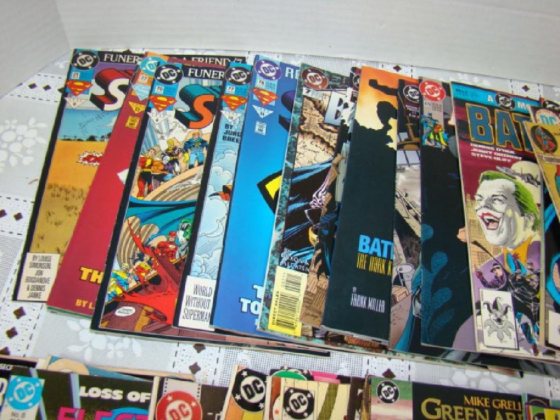 APPROXIMAELY 42 DC COMICS-SUPERBOY-DETECTIVE COMIC - 4