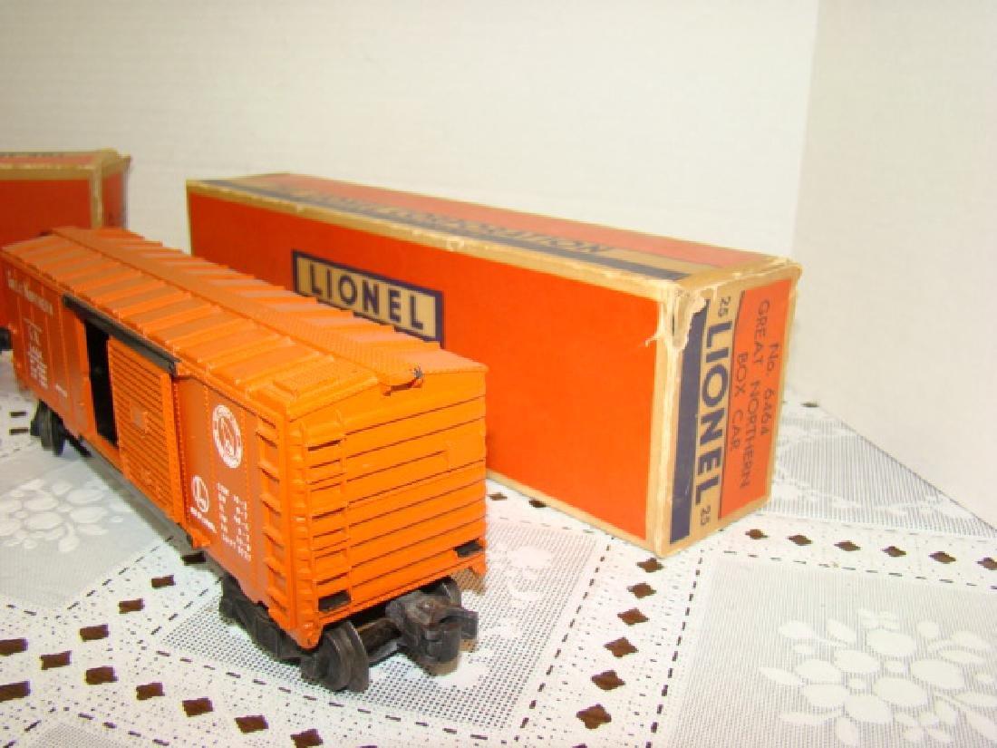 LIONEL CABOOSE & BOXCAR IN ORIGINAL BOXES - 2