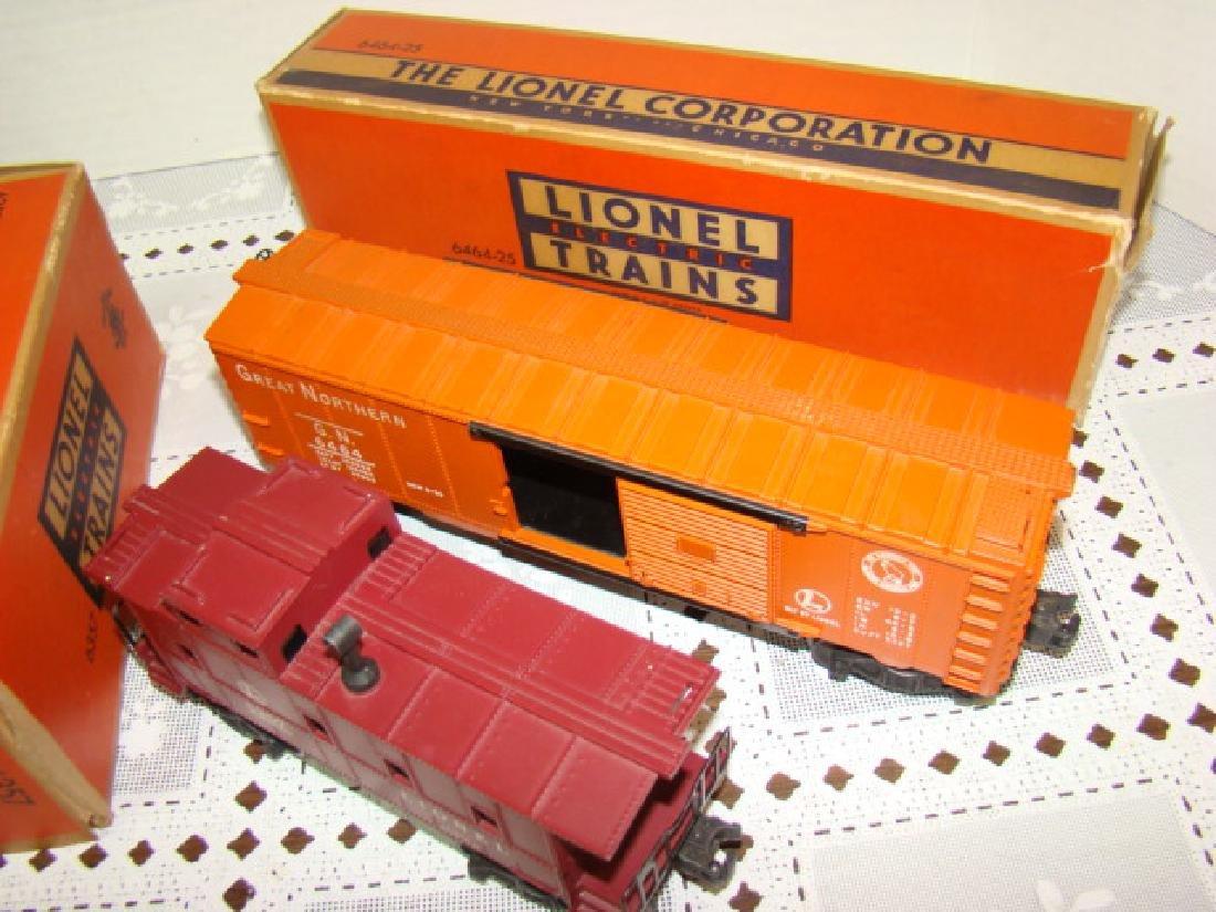 LIONEL CABOOSE & BOXCAR IN ORIGINAL BOXES - 4