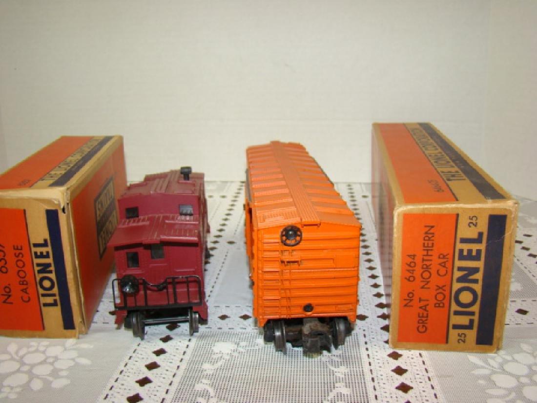 LIONEL CABOOSE & BOXCAR IN ORIGINAL BOXES - 5