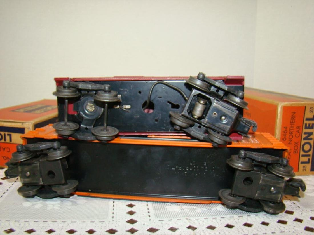 LIONEL CABOOSE & BOXCAR IN ORIGINAL BOXES - 6
