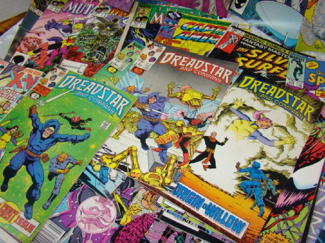 VARIOUS COMIC BOOKS-AMAZING SPIDERMAN-XMEN-SILVER - 2