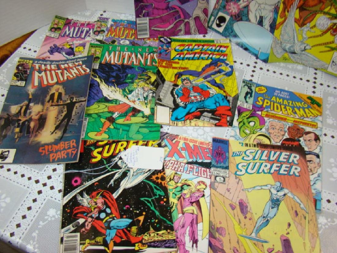 VARIOUS COMIC BOOKS-AMAZING SPIDERMAN-XMEN-SILVER - 4