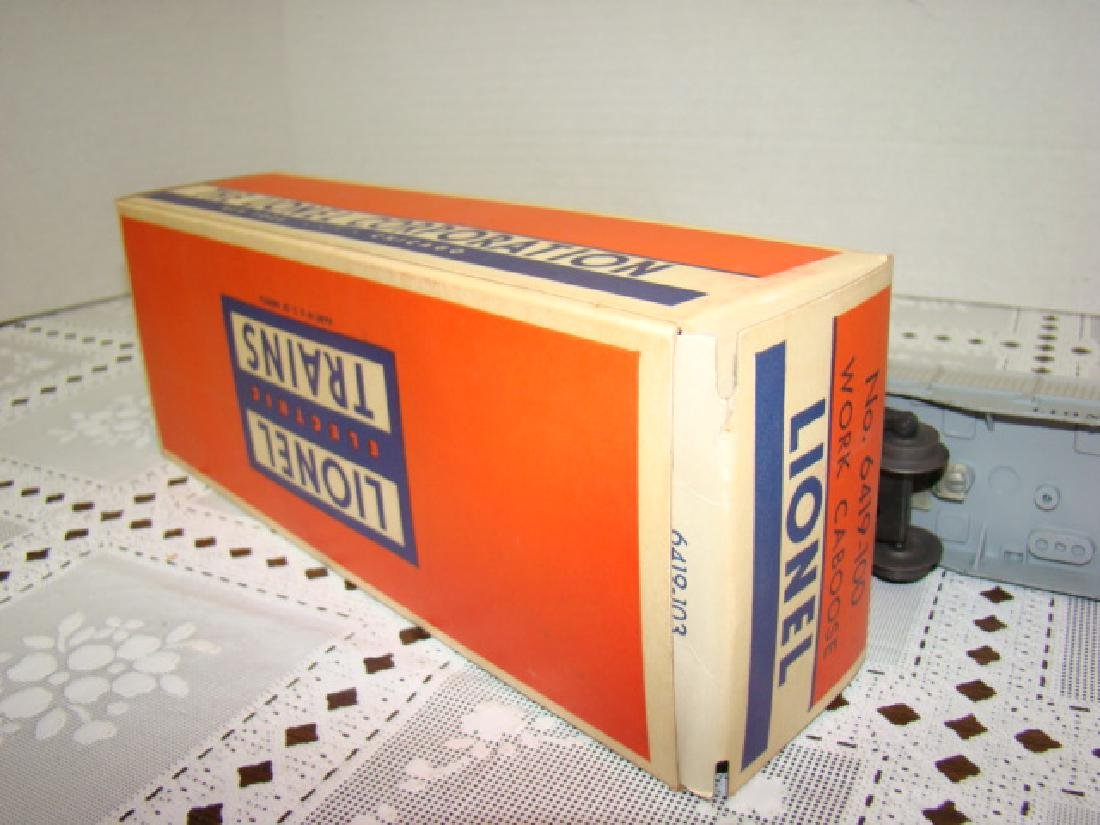 LIONEL WORKING CABOOSE IN ORIGINAL BOX - 6