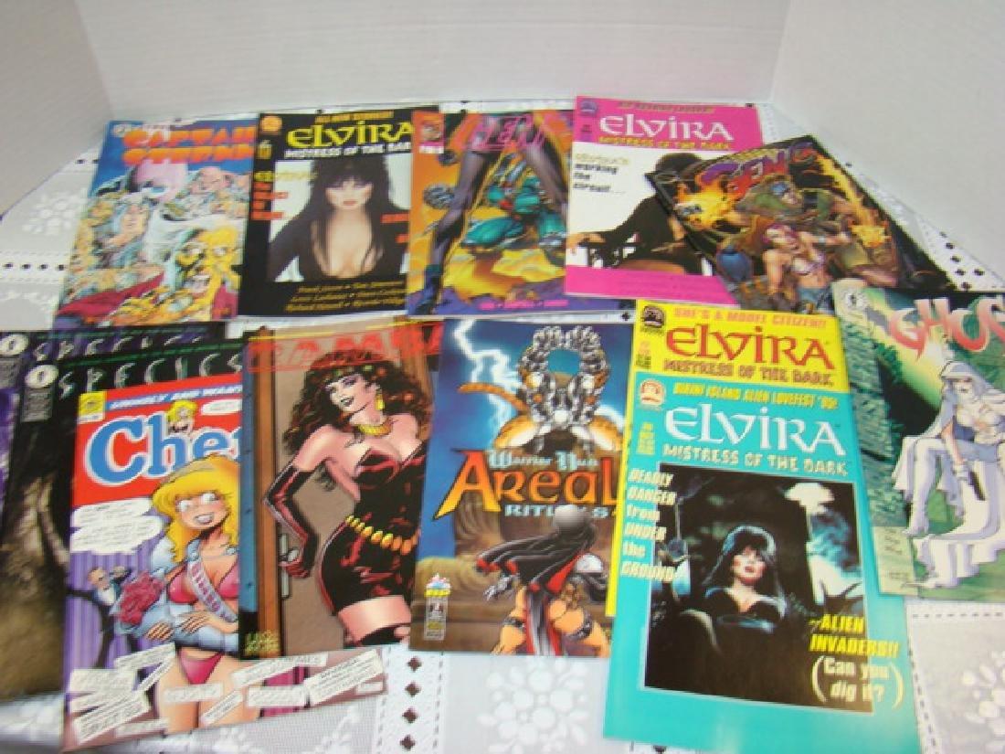 ELVIRA-SPECIES-V FOR VENDETTA & MORE COMICS - 4