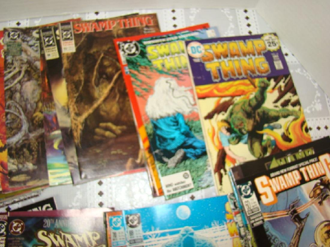 APPROXIMATELY 70 SWAMP THING COMICS - 2