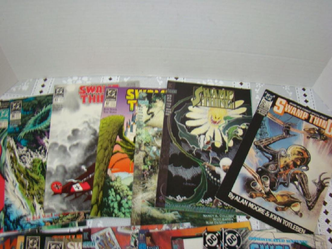 APPROXIMATELY 70 SWAMP THING COMICS - 5