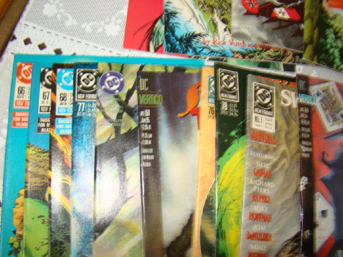 APPROXIMATELY 70 SWAMP THING COMICS - 6