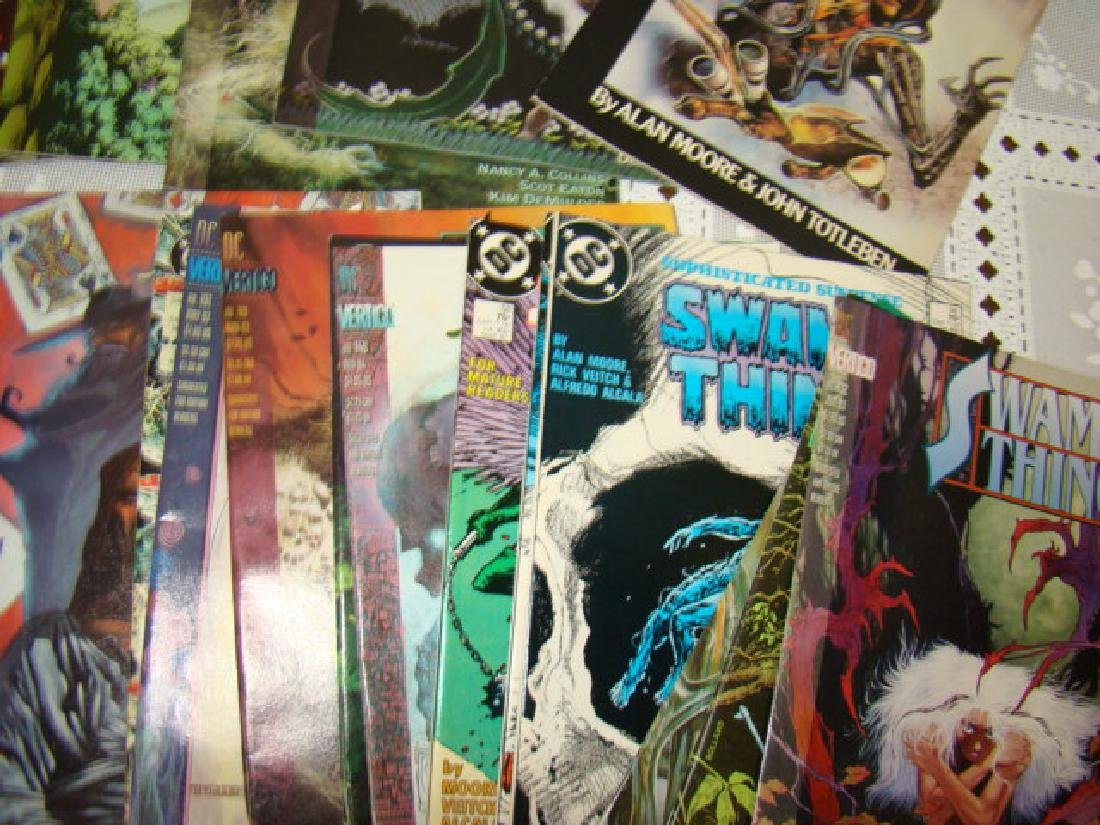 APPROXIMATELY 70 SWAMP THING COMICS - 7