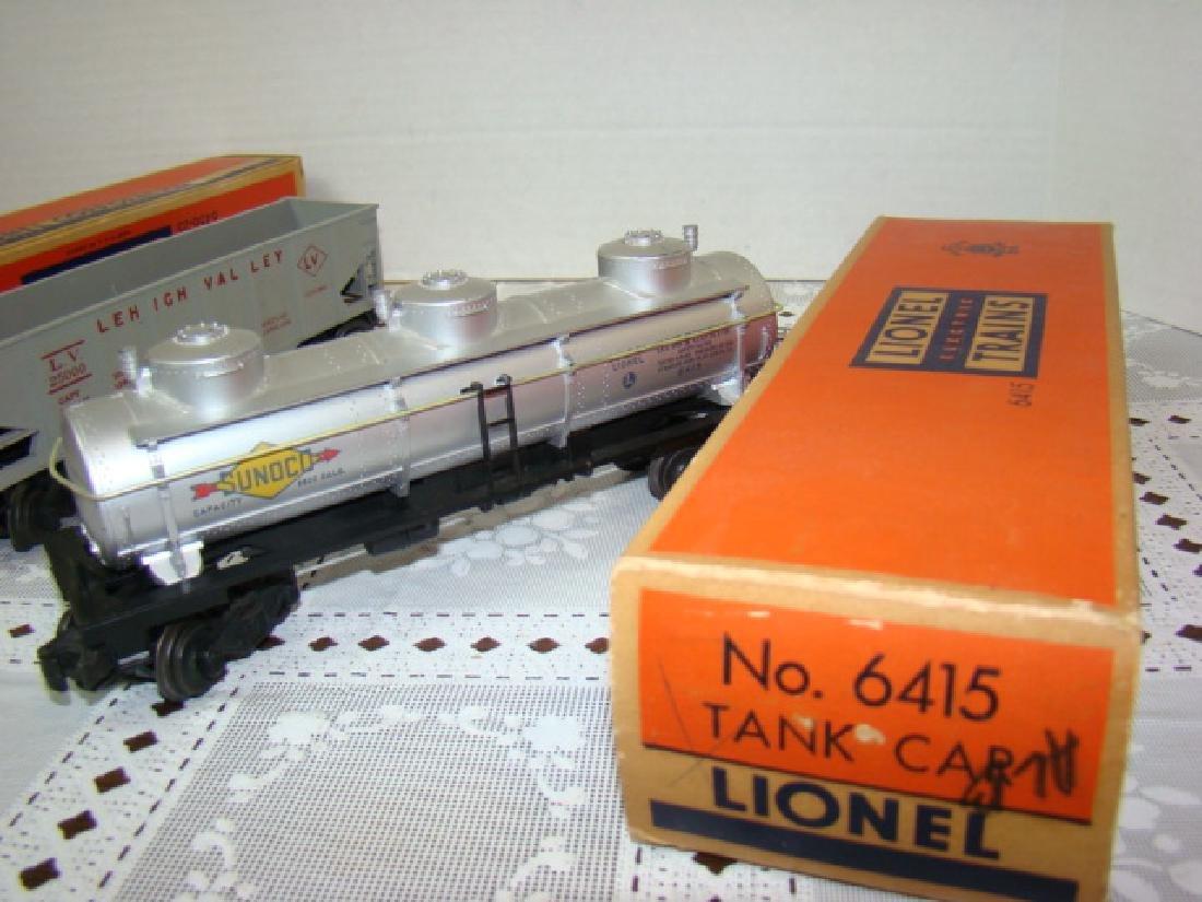 LIONEL HOPPER-GONDOLA-TANKER CARS IN ORIGINAL BOXE - 5