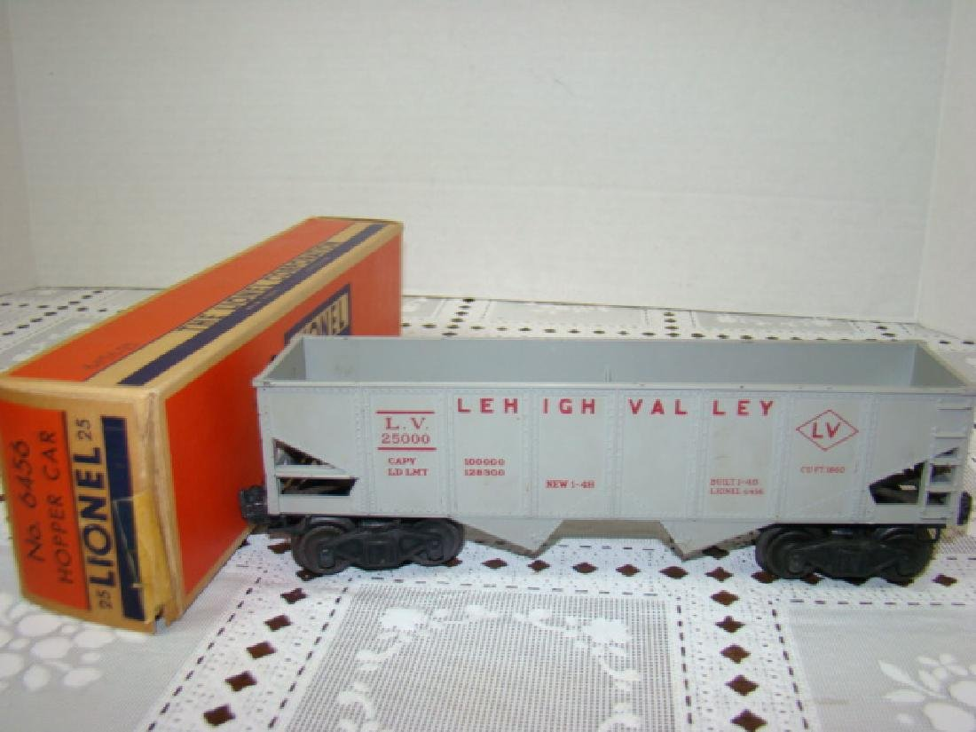 LIONEL HOPPER-GONDOLA-TANKER CARS IN ORIGINAL BOXE - 6