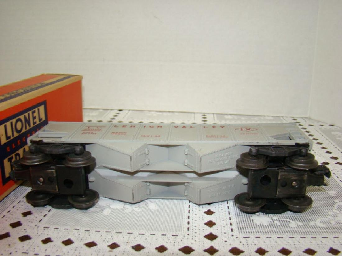 LIONEL HOPPER-GONDOLA-TANKER CARS IN ORIGINAL BOXE - 7