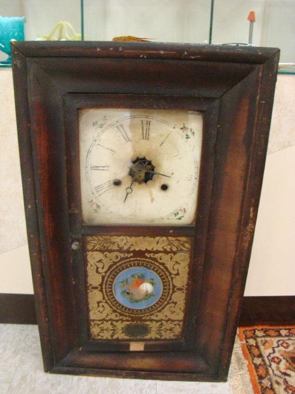 LATE 1800'S 30 HOUR CLOCK BY JEROME & COMPANY