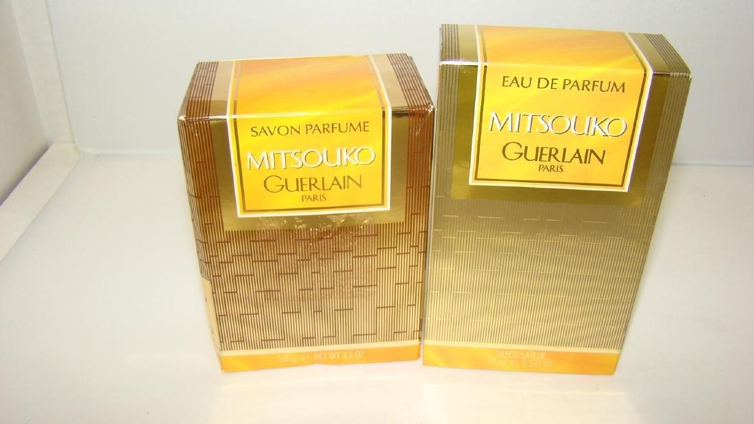 MITSOUKO OF GUERLAIN PARIS EAU DE PERFUM AND SOAP
