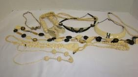 IVORY COLORED NECKLACES AND MORE