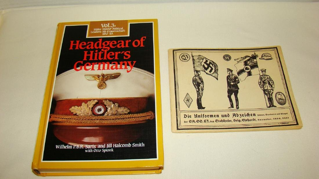 LIMITED EDITION - HEADGEAR OF HILTLER'S GERMANY