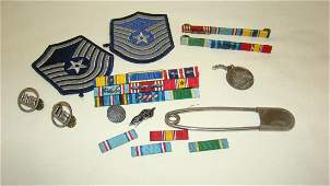 VINTAGE MILITARY PATCHES AND PINS