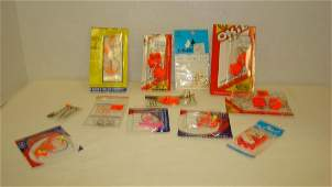 VARIOUS FISHING LURES  ALL NEW IN PACKAGING