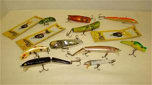 VARIOUS FISHING LURES  NEW AND USED