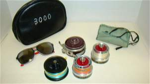 VINTAGE SOUTH BEND OPEN-O-MATIC FLY FISHING REEL