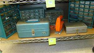 DREMEL SET-TACKLE BOX & MORE