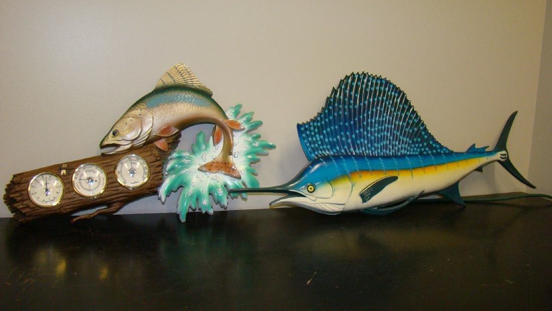 Artificial sole fish in plastic 2 pack blown l 270x120 mm