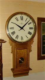 LARGE VINTAGE WALL CLOCK BY TRADE MARK