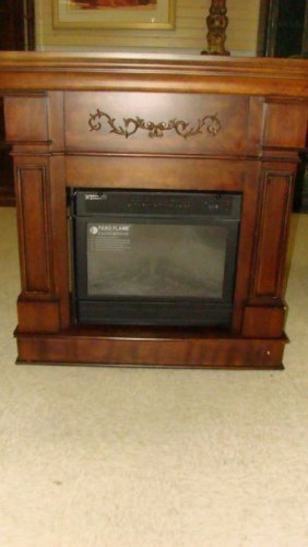 Febo Flame Electric Fireplace