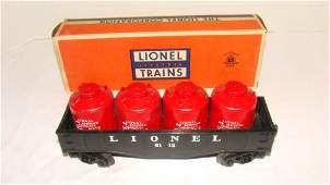 LIONEL O SCALE CANISTER CAR 611221
