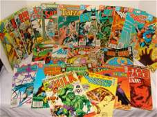 MARVEL AND DC COMICS MIXED LOT 1970S AND 80S