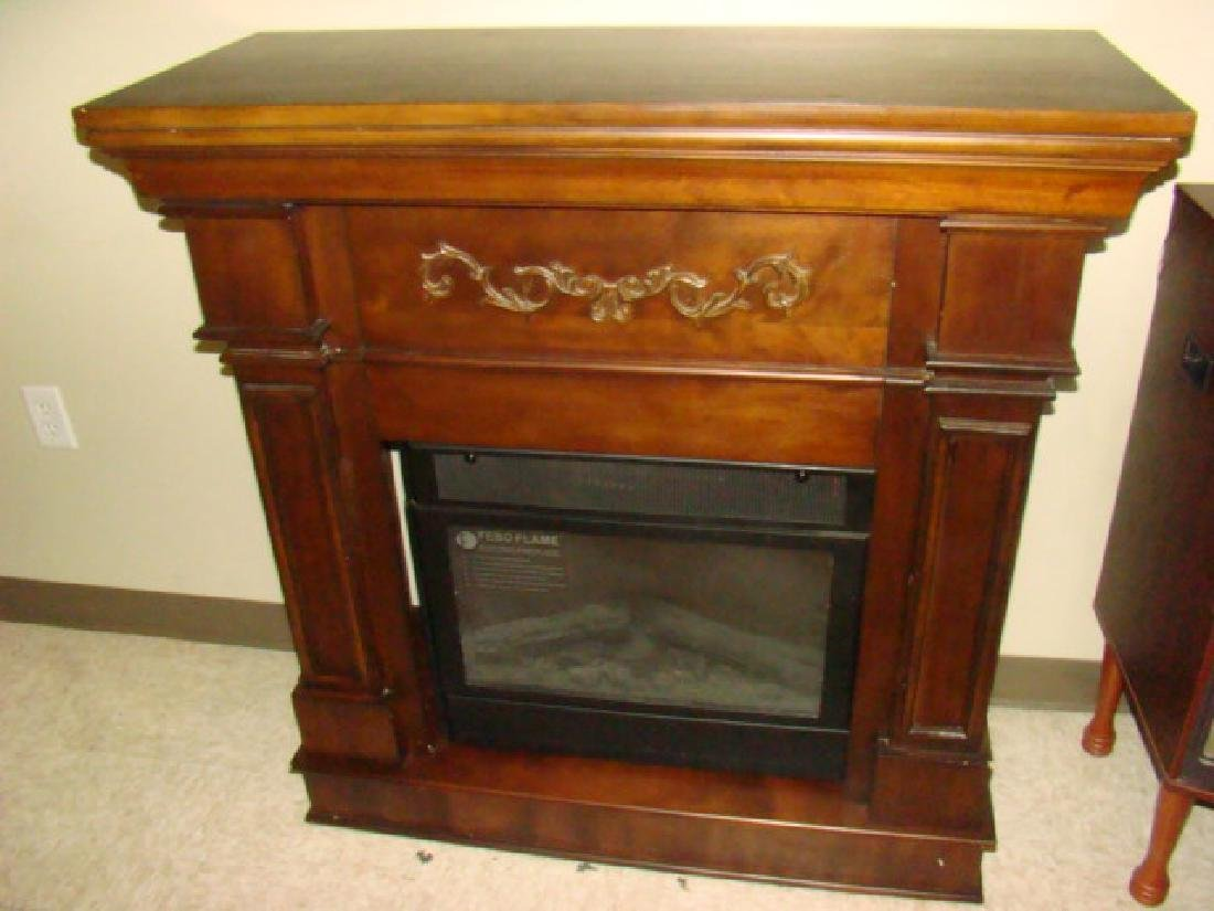 flame electric fireplace