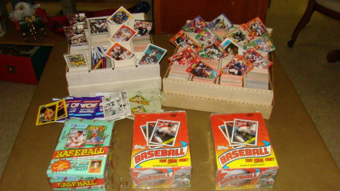 2 SETS OF SEALED TOPPS BASEBALL CARDS AND MORE