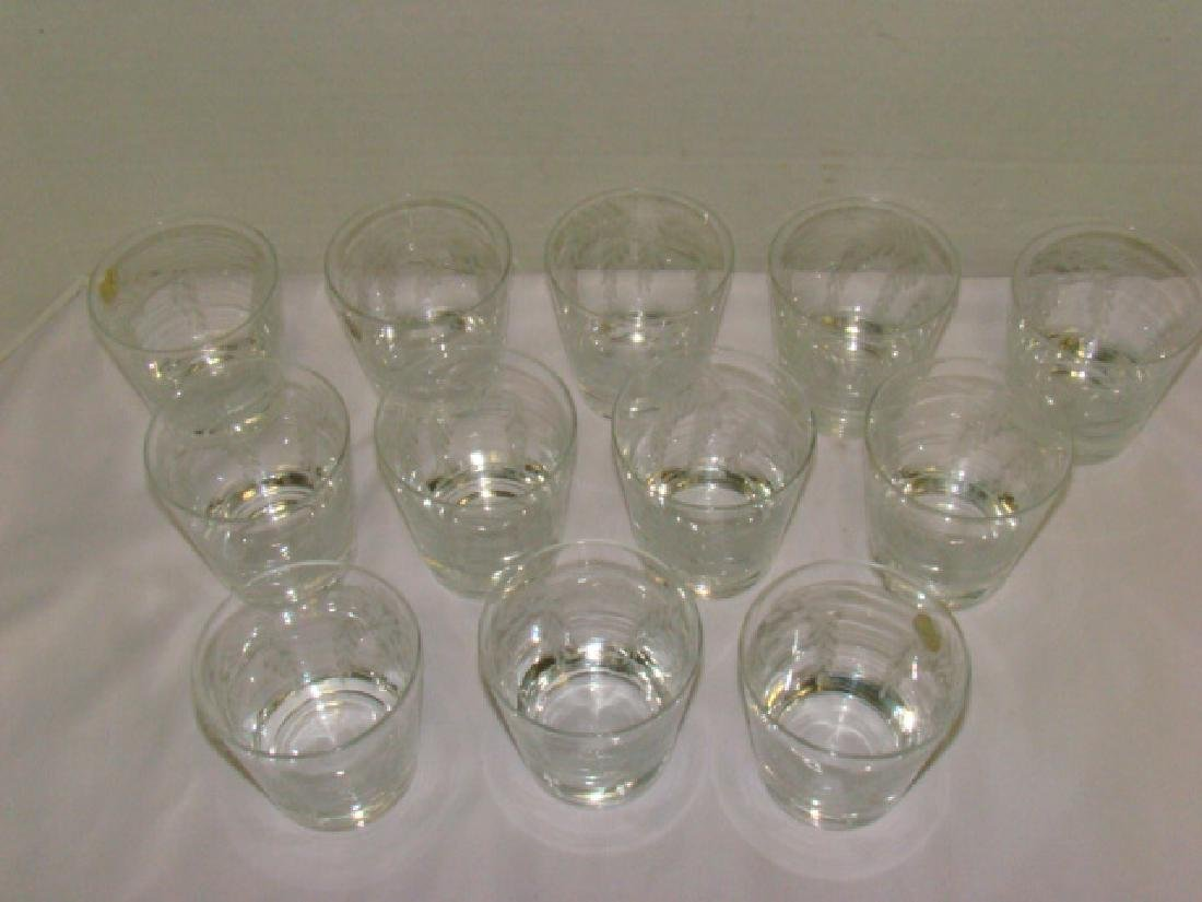 SET OF 12 CRYSTAL JUICE GLASSES - 2